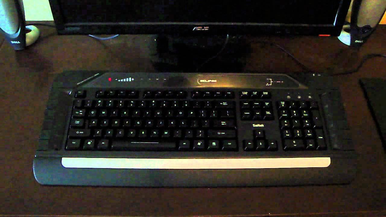 Saitek Eclipse III Keyboard Drivers for Mac