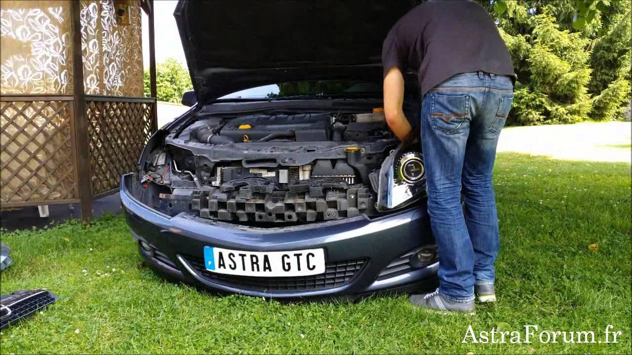 Решетка радиатора для а/м Opel Astra