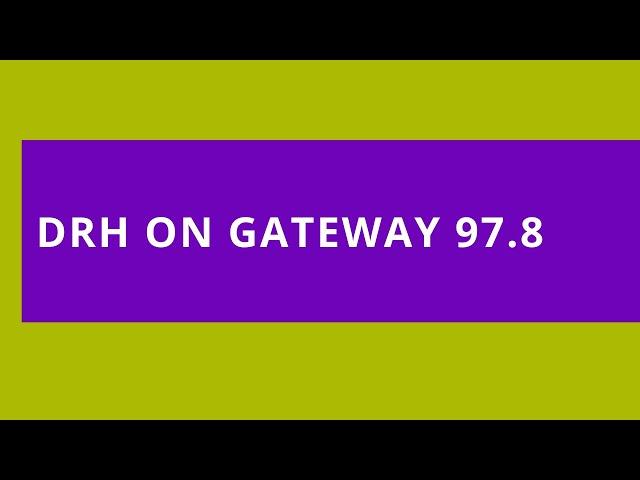 Autism Awareness Day: Gateway 97.8 FM