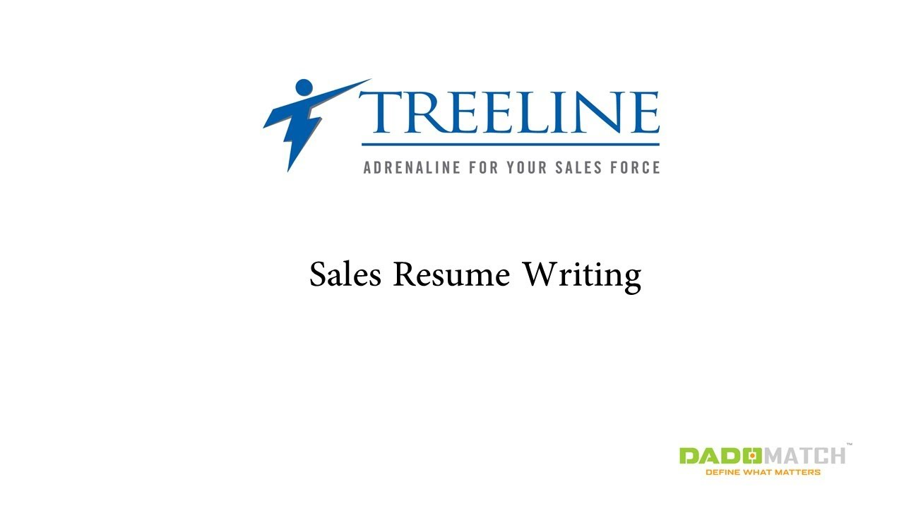 how to write a sales resume - How To Write A Sales Resume