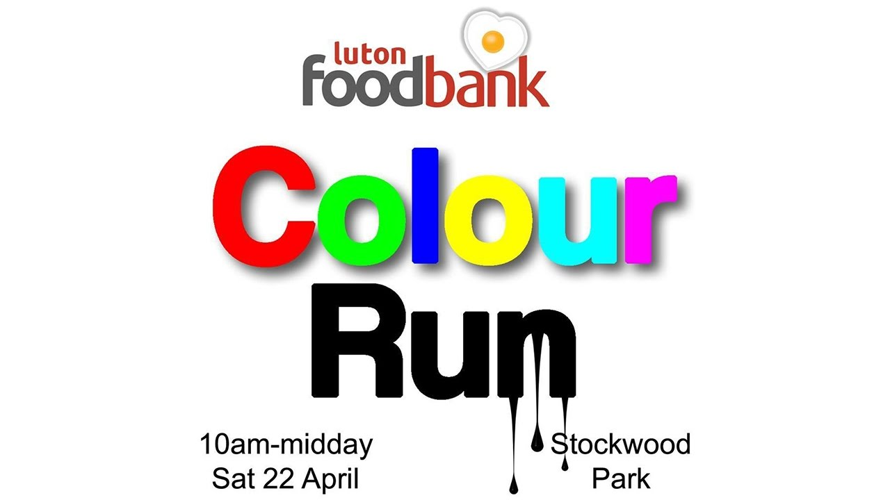 Lutons Most Strongest X Luton Foodbank Colour Run