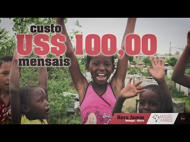 Projeto Keru Jamm - Conheça e apóie estas crianças!