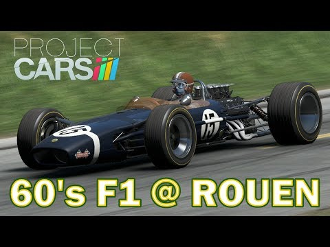 Project CARS: '60's F1 at Rouen-Les Essarts