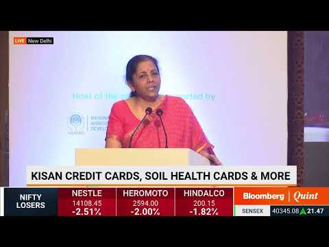 Finance Minister Nirmala Sitharaman's Address At NABARD'S 6th World Congress