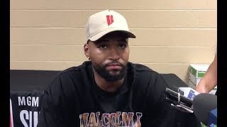 DeMarcus Cousins on joining the Warriors, how the all star lineup will play & updates on his injury