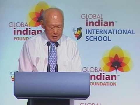 GIISVideo- MM Lee Kuan Yew speaking at Mr Narayana Murthy's book launch, 11-05-'09