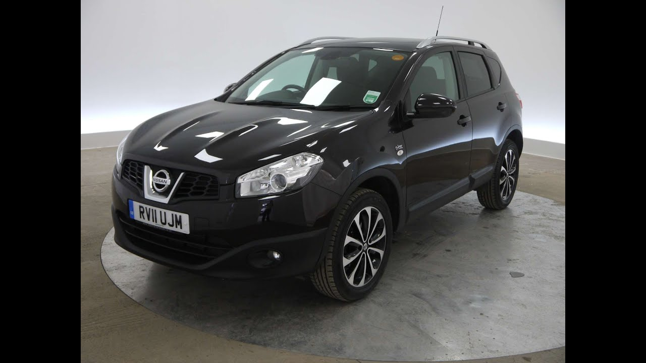 2011 nissan qashqai n tec black for sale in hampshire youtube. Black Bedroom Furniture Sets. Home Design Ideas