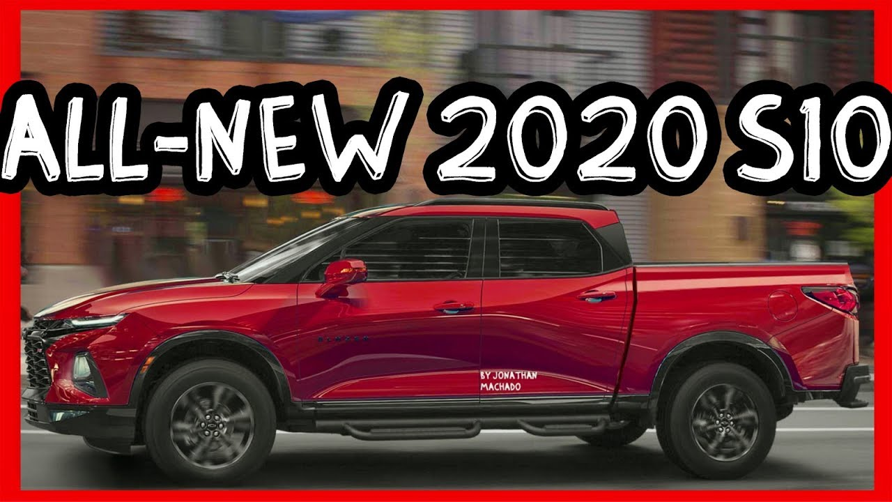 PHOTOSHOP All-New 2020 Chevrolet S10 Colorado @ GM Blazer Pickup - YouTube