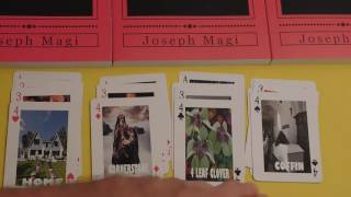 MAGI Playing Card DECK REVIEW; Playing Card Divination and Fortune Telling: The Magi Method