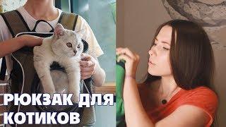 Рюкзак-переноска с КИТАЯ\ Все для Котиков