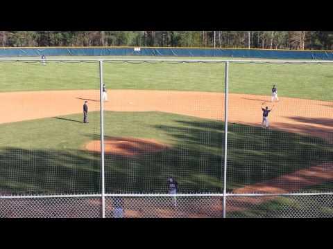 Tanner Revis Enka Baseball Dirtbags pitching