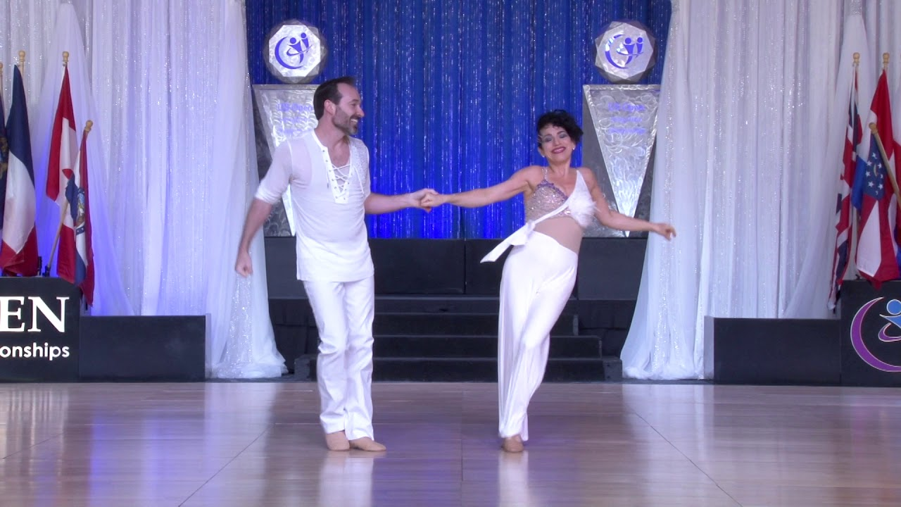 The Open 2019   1st Place   Sophisticated Routines   Steve Wilder and Lara Deni