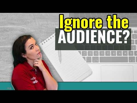 First Draft Writing Tip - Ignore Your Audience - Memoir and Family History Writing
