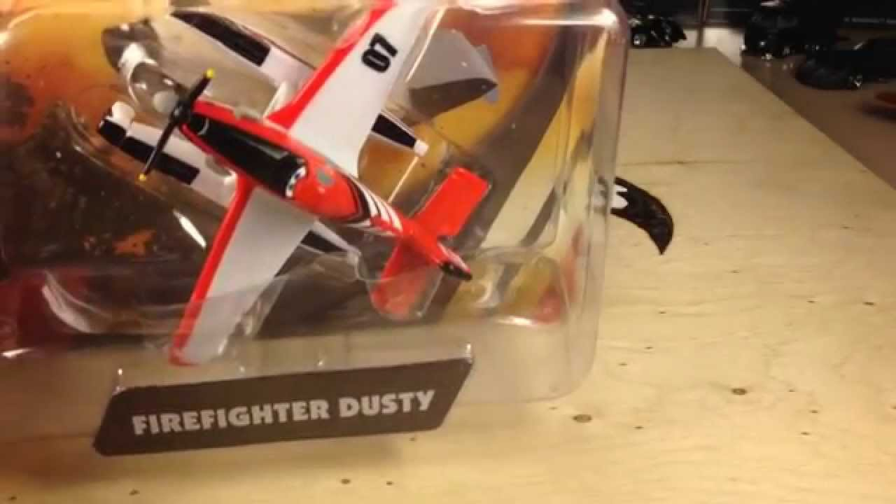 Disney Planes Fire And Rescue Firefighter Dusty Crophopper