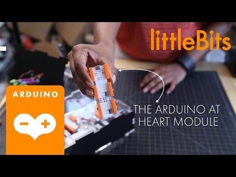 Introducing: The littleBits Arduino at Heart Module