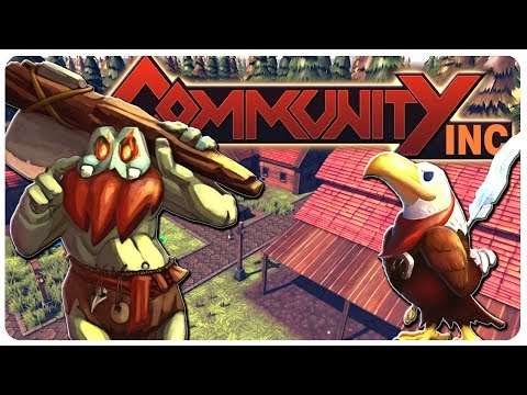 BUILD n' MANAGE Your Own Trade Community! | Community INC Gameplay (PC)