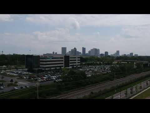 Columbus Ohio skyline 8-10-2017