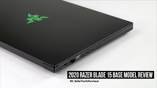 2020 Razer Blade 15 Base Model Review