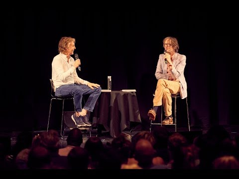 Paul McCartney in Casual Conversation with Jarvis Cocker at LIPA