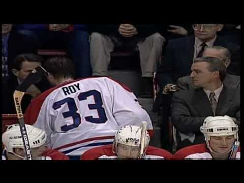 Patrick Roy Moments The End in Montreal  YouTube