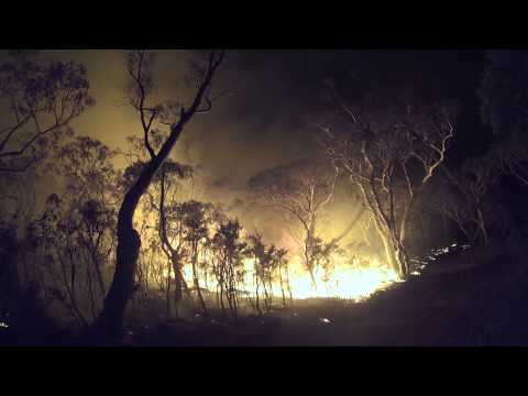 Mt York and State Mine Fires October 2013