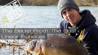 The Beast from the East, winter carp fishing Linear fisheries