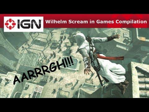 Wilhelm Scream in Games Compilation