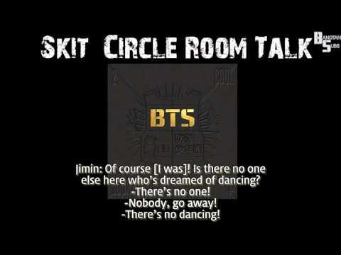 (ENG) Skit Circle Room Talk by BTS
