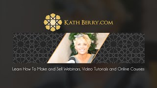 Online Education to Advance the Acupuncture Profession:  Want to teach online? Visit KathBerry.com