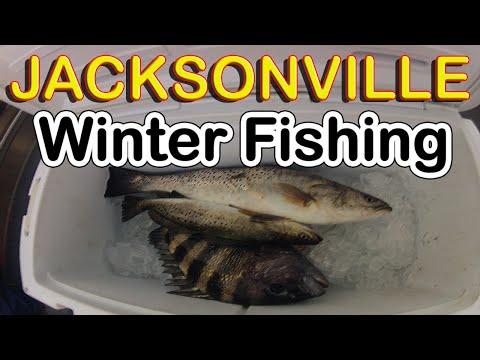 WINTER FISHING: Jacksonville Florida Fishing Video's