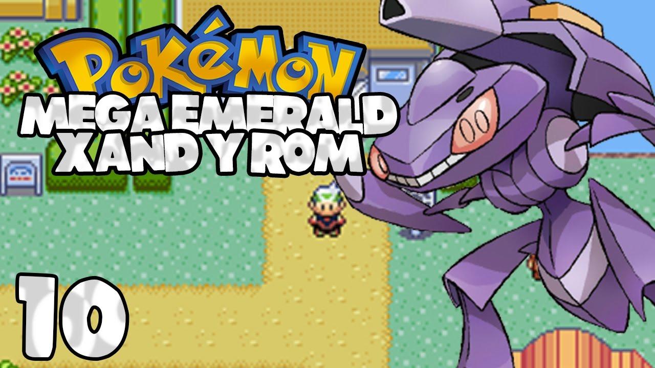 pokemon mega emerald x and y emulator download