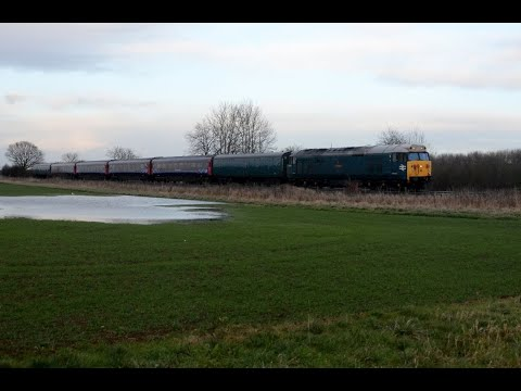 Midlands Motive Power Highlights   January 2018 HD