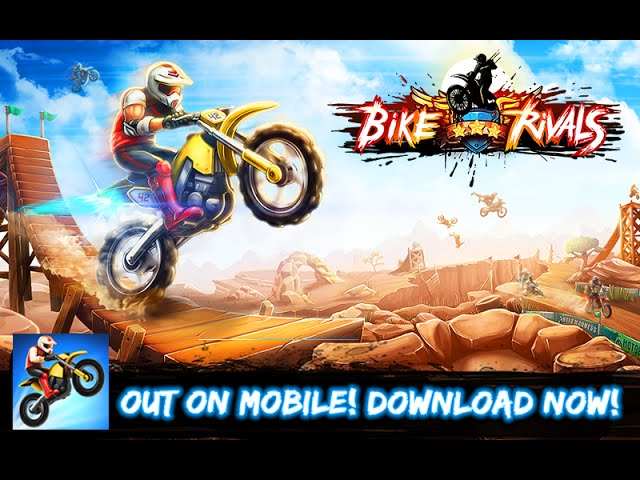 Bike Rivals: Trailer - iOS and Android gameplay