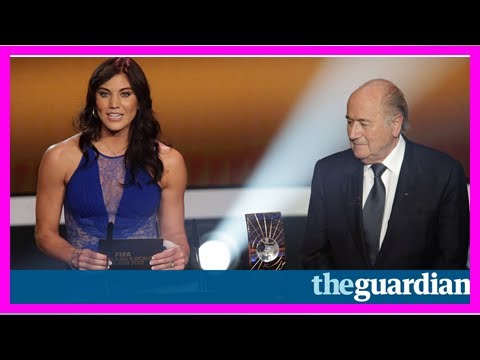 Hope solo accuses sepp blatter of ual assault at awards ceremony 2017