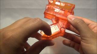 Cross Fight B-Daman Unboxing - CB-42 SYSTEM MAGAZINE Tune-Up Gear (Takara Tomy)