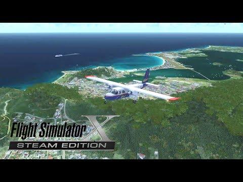 FSX St. Maarten to St. Barts | Full VFR Flight