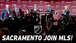 Sacramento Republic FC Becomes the 29th MLS Team! | Expansion Announcement Video