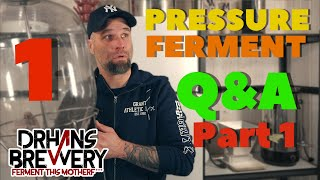 Pressurized Fermentation Q&A - Fermentasaurus, Fermzilla, Fermenter King JR