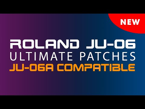 ROLAND JU-06 ULTIMATE PATCHES • VOLUMES 4-6