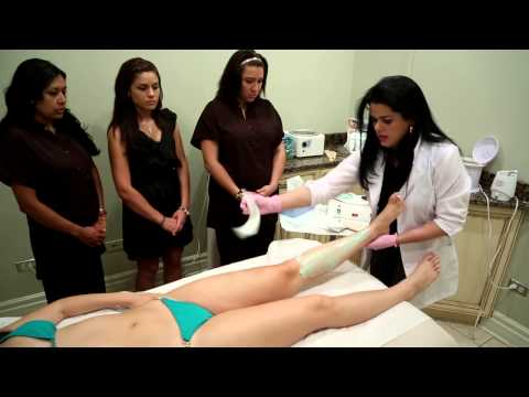 Brazilian waxing training