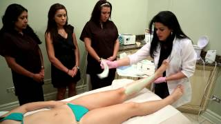 Repeat youtube video Brazilian waxing training