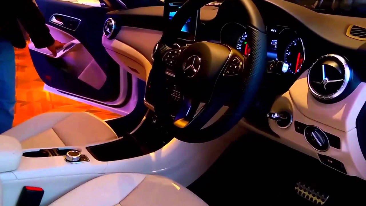 Mercedes-Benz CLA-Class 2015 India Showcase