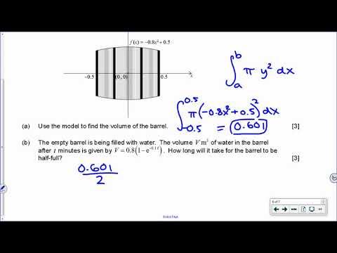IB Math SL Nov 2016 TZ0 Paper 2 Question 6 YouTube