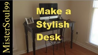 Build A Computer Desk Or Many Other Types Of Furniture Such As Tables.