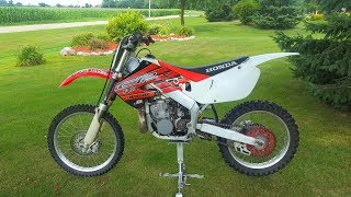 I Blew Up My New Honda Cr250...