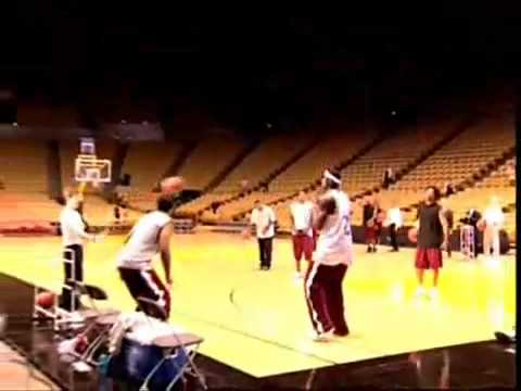 Lebron james hits 5 full-court shots in a row from YouTube · Duration:  40 seconds