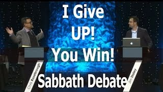 The Point Chris Rosebrough Concedes Jim Staley Is Right About The Sabbath Debate