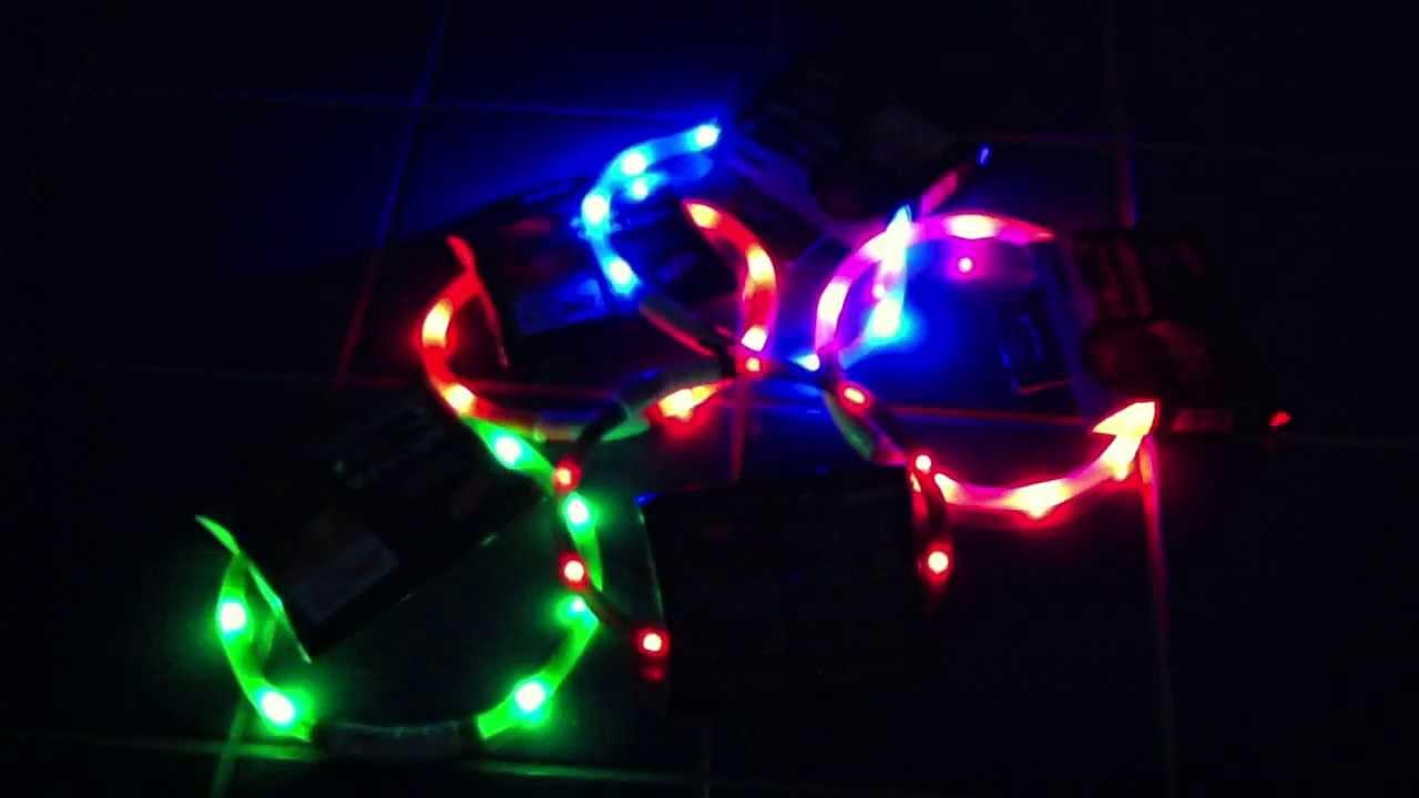 Visio Light LED Leuchthalsband & Visio Light LED Leuchthalsband - YouTube azcodes.com