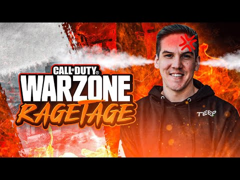 THE TEEP WARZONE RAGETAGE! BEST/FUNNIEST RAGE REACTIONS! (WARZONE)