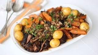 Spicy Chile Braised Brisket